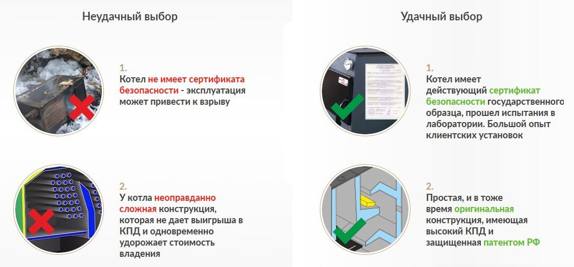 Отопительный котел ДоброХОТ-10М