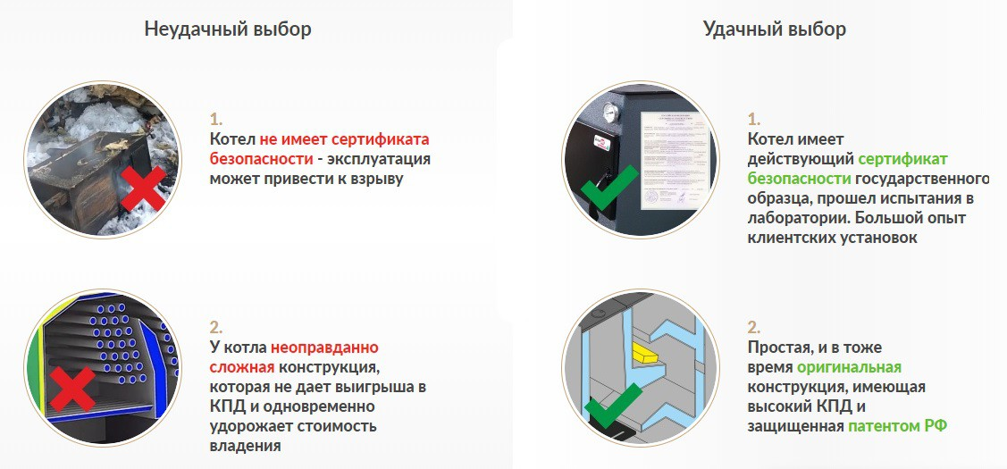 Отопительный котел ДоброХОТ-40М