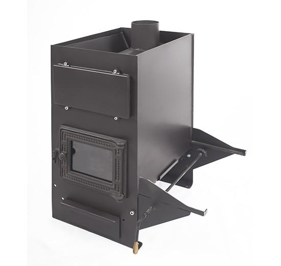 Печь Кастрама CLASSIC, б/в, (ДТ-3С) чугунная дверка со стеклом