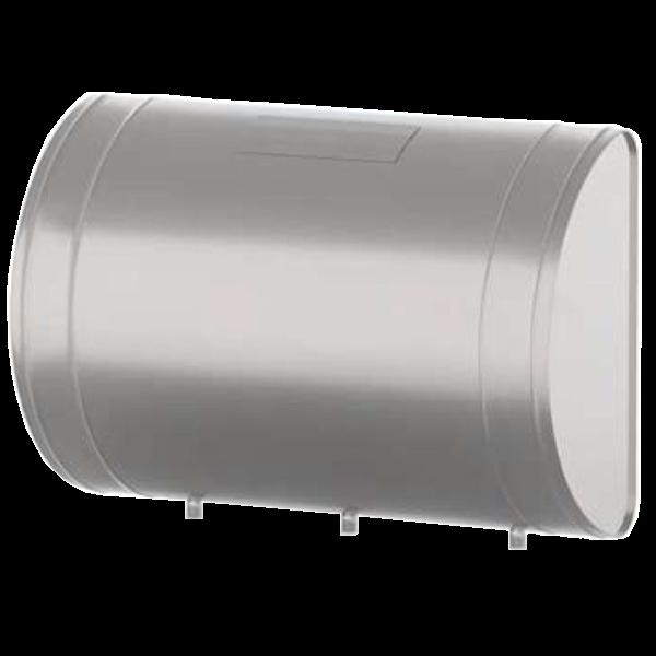 Бак выносной (для теплообмена) 70л. овальный (нерж. 0,8 мм, 3 штуцера)