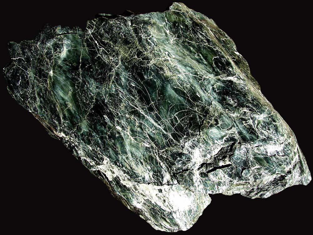 Камень для бани и сауны СЕРПЕНТИНИТ колотый (ведро 10кг)