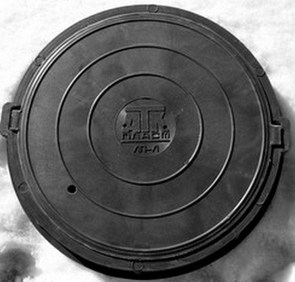 Люк ЛП 630/750/580/40 нагрузка до 25 тонн ( цвет черный) 42 кг.