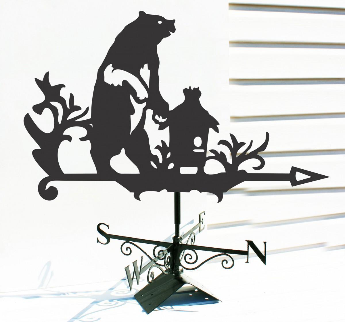 """Флюгер """"Медведь"""""""