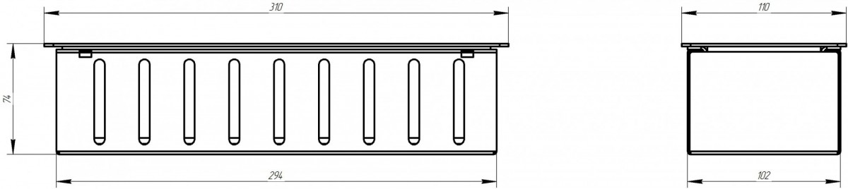 Топливный блок 250А