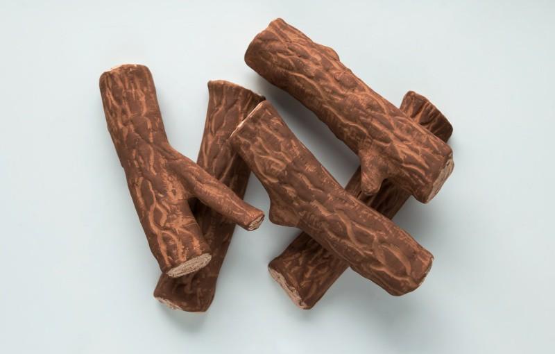 Керамические дрова (сосна)